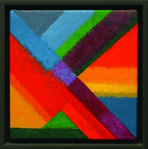 EAVES Towards The Centre, 2010. Oil on canvas
